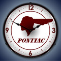 Pontiac Indian Clock