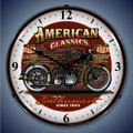 American Classic Motorcycle Clock