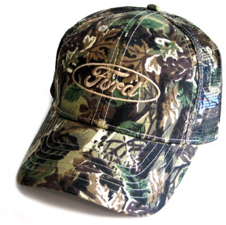 Ford Oval Camo Mesh Hat