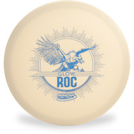Innova DX Glow Roc Disc Golf Mid-Range Front View