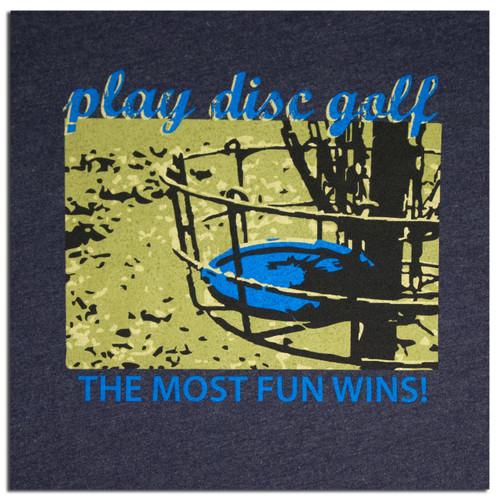 TWL T-SHIRT - PLAY DISC GOLF DESIGN