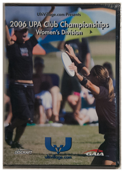 ULTIVILLAGE.COM UPA CLUB CHAMPIONSHIPS 2006 - WOMENS DIVISION ULTIMATE DVD