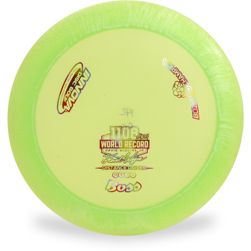 Innova BLIZZARD CHAMPION BOSS Disc Golf Driver Top View