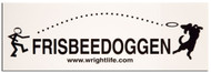 FRISBEEDOGGEN DISC DOG STICKER