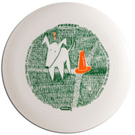 WHAM-O UMAX FRISBEE DISC - QUIZZICAL DOG UPA DESIGN