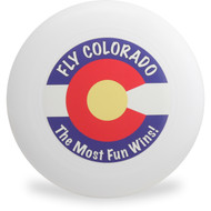 Discraft ULTRA STAR - FLY COLORADO FLAG Design Ultimate Frisbee Disc