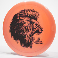 Discraft Big Z Predator Salmon Top View