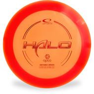 Latitude 64 OPTO HALO Disc Golf Driver Orange Top View