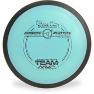 MVP FISSION PHOTON - ELAINE KING Disc Golf Distance Driver Aqua Front View