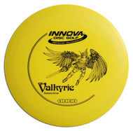 Innova DX VALKYRIE - SUPER LIGHT Driver Golf Disc - front view yellow
