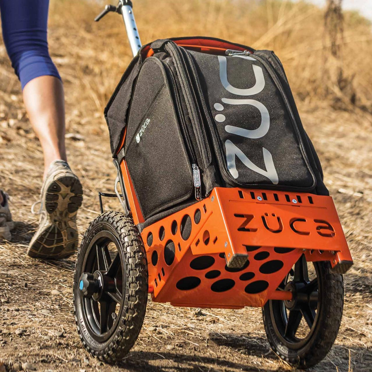 zuca all terrain disc golf cart the wright life action sports store
