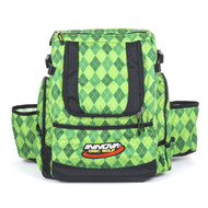 Argyle Green HEROPACK INNOVA DISC GOLF BACKPACK BAG - HOLDS 25 DISCS