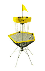 INNOVA TRAVELER PORTABLE DISC GOLF BASKET - Yellow