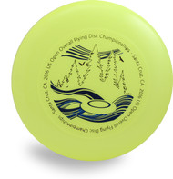 DISCRAFT SKY-STYLER NEON GREEN BLUE SANTA CRUZ FREESTYLE FLYING DISC
