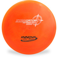 Innova STAR GATOR Disc Golf Mid-Range Driver Top View Orange