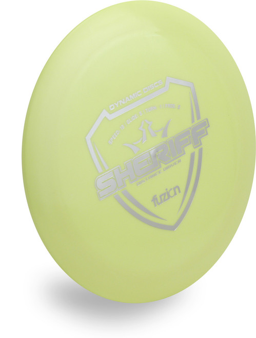 DYNAMIC FUZION SHERIFF DISC GOLF DRIVER