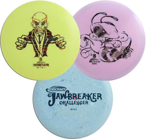 Discraft Mini Marker Disc 3 Pack – Set of Three Throwing Minis