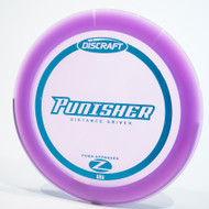 Top view of a purple Discraft Punisher (Z-Line)