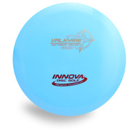 INNOVA STAR VALKYRIE DISC GOLF DRIVER - front view blue
