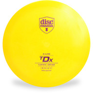 DISCMANIA S-Line TDX DISC GOLF DRIVER Yellow Front View