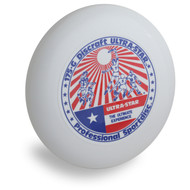 DISCRAFT ULTRA STAR - STOCK WHITE PLAYERS STAMP PRE-RINGS 175 GRAM ULTIMATE FRISBEE