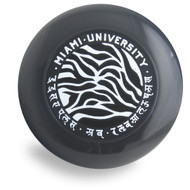 DISCRAFT ULTRA STAR - MIAMI UNIVERSITY BLACK PRE-RINGS 175 GRAM ULTIMATE FRISBEE