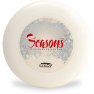 DISCRAFT ULTRA-STAR 175G ULTIMATE FRISBEE CHRISTMAS DISC 2014