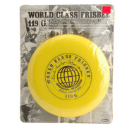 ORIGINAL WHAM-O 40 MOLD FRISBEE 119G 4 SIGNATURE YELLOW