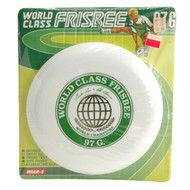 ORIGINAL WHAM-O 97G WORLD CLASS FRISBEE WHITE