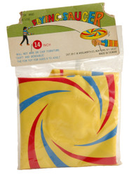 FLYING SAUCER BLOWUP FLYING DISC - FOREIGN
