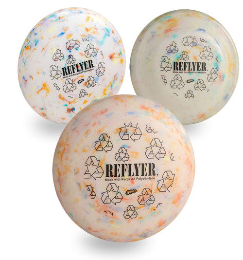 Wham-O Recycled Frisbees Three Pack - Variety Set of All 3 Reflyer Models