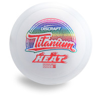 DISCRAFT TITANIUM HEAT FAIRWAY DISC GOLF DRIVER