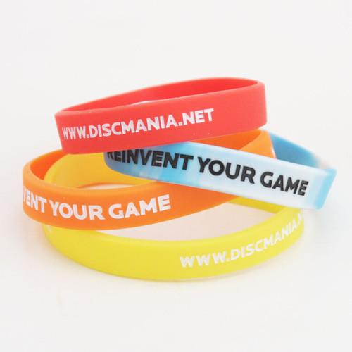DISCMANIA DISC GOLF WRISTBAND - REINVENT YOUR GAME