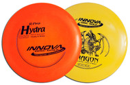 Innova FLOATING DISC GOLF SET 2 PACK (Dragon & Hydra) - FLOATS ON WATER!