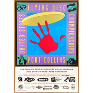 1992 US Open Flying Disc Championships Poster