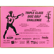 Triple Class Disc Golf Challenge Poster