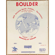 1979 Wham-O North American Series - Boulder Poster