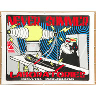 Never Summer Laboratories print, numbered 28/400, signed by LKL