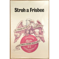 1974 Stroh a Frisbee Poster