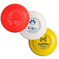 Hyperflite Puppy Disc Variety Sampler 3 Pack - Best Flying Frisbees Asst Colors