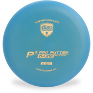 Discmania D-LINE P2 Putter & Approach Golf Disc Blue Top View