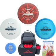 Dynamic Discs Complete Disc Golf Gift Set - 3 Best Discs + Popular Trooper Backpack Bag