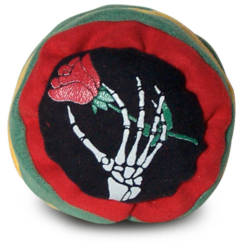 GREATFUL DEAD ROSE FOOTBAG (HACKY SACK)