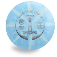 WESTSIDE SWORD TOURNAMENT TP BURST DISC GOLF DRIVER