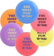THE MOST FUN WINS MINI SIX PACK - Set of 6 Innova Disc Golf Mini Markers