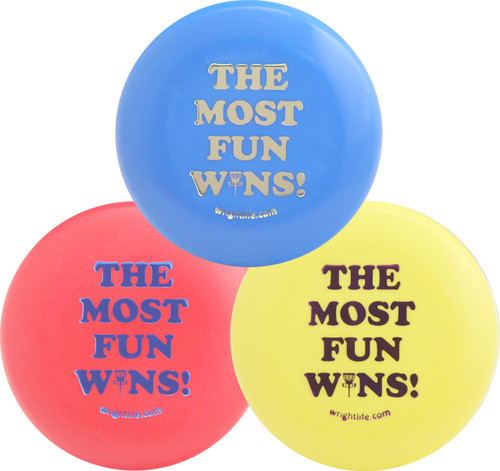 THE MOST FUN WINS MINI THREE PACK - Set of 3 Innova Disc Golf Mini Markers