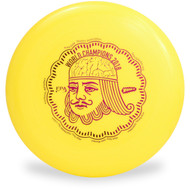 WHAM-O 100 MOLD FRISBEE - CUSTOM FPA 2019 DESIGN yellow