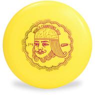 WHAM-O 100 MOLD FRISBEE - CUSTOM FPA 2019 DESIGN yellow