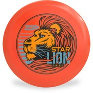 Innova STAR LION - INNFUSE GRAPHICS Mid-Range Golf Disc Orange Front View