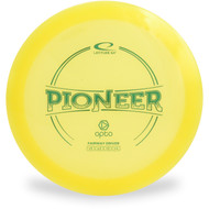 Latitude 64 OPTO PIONEER Driver Golf Disc Yellow Front View
